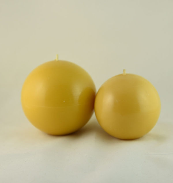 Beeswax Balls Candles