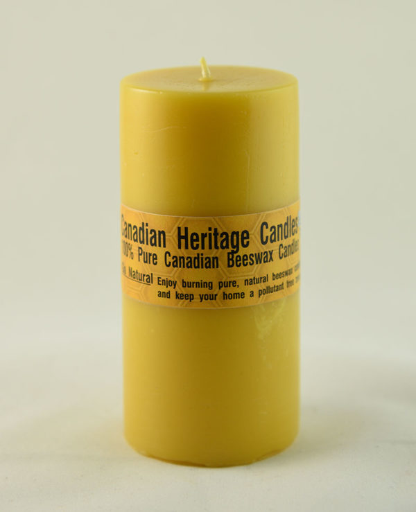 Beeswax Candles Smooth Pillar