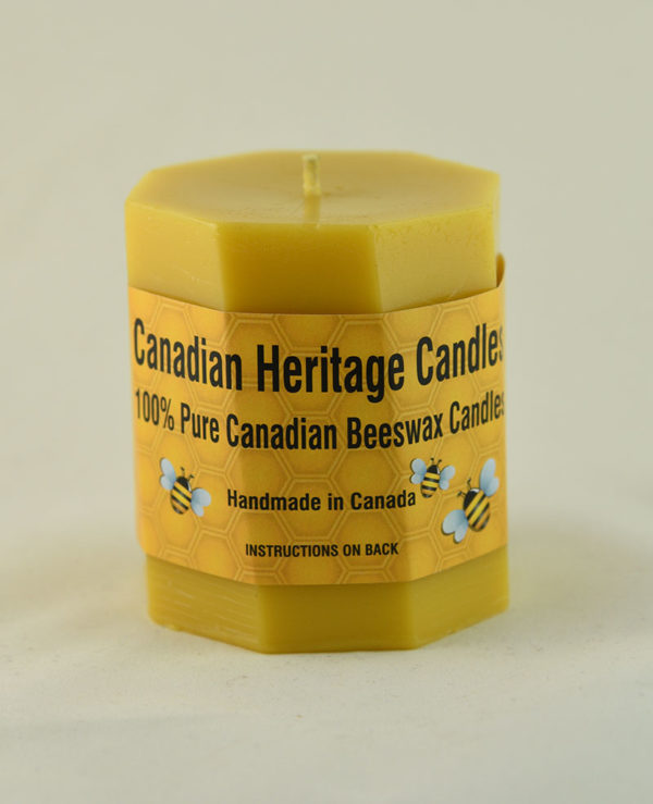 Beeswax Candles Twisted PIllar