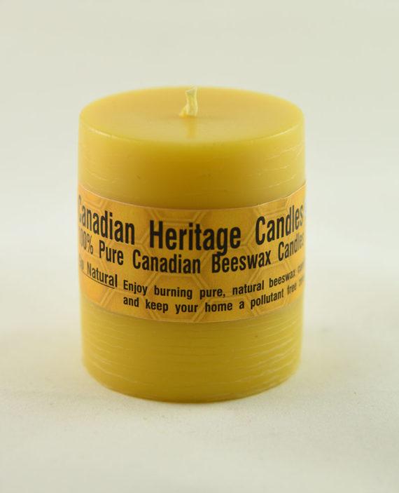 Smoot Pillar Beeswax Candles