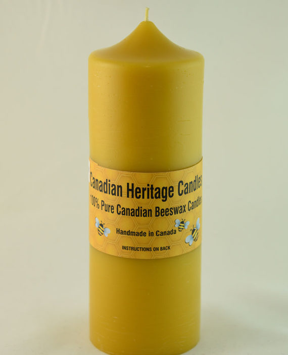 Beeswax Candles Dome PIllar