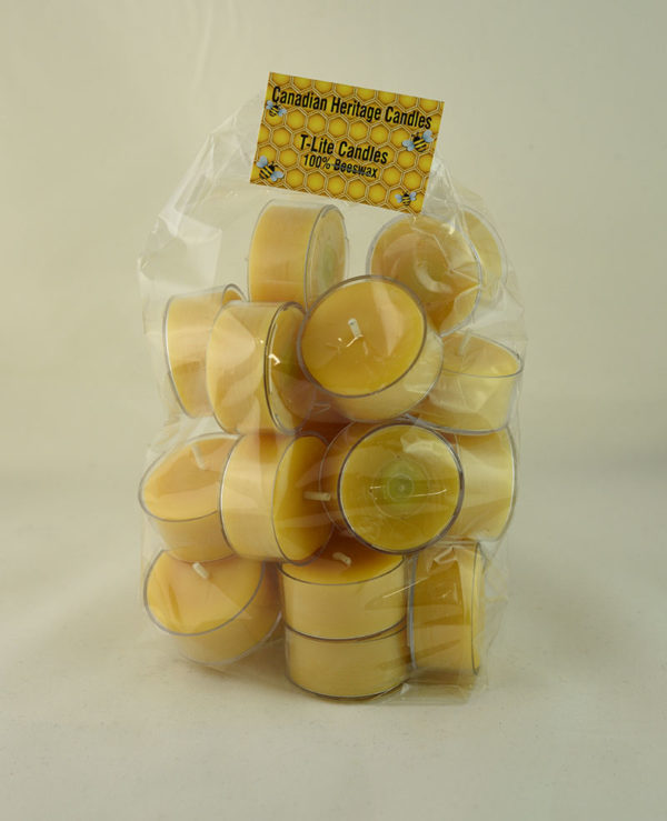 Beeswax T-Lite Candles