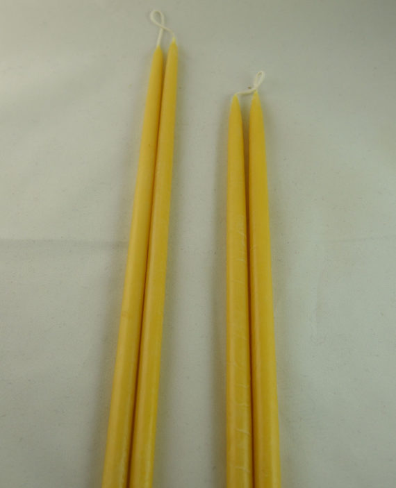 Beeswax Candles Hand Dipper Taper